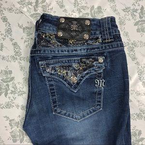 Miss me jeans sz 30 x 34 boot